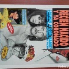 Cine: GUIA CINE 2 HOJAS: RECIEN NACIDO Y YA CORONADO RICK MORANIS ERIC IDLE. Lote 148962418