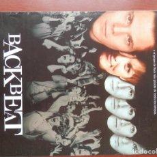 Cine: GUIA CINE 2 HOJAS: BACKBEAT - THE BEATLES. Lote 148962446