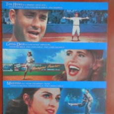 Cinéma: GUÍA CINE GRAN TAMAÑO: ELLAS DAN EL GOLPE ( TOM HANKS. Lote 149336554
