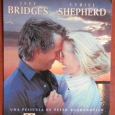 Cine: GUÍA CINE GRAN TAMAÑO: TEXASVILLE - JEFF BRIDGES Y CYBILL SHEPHERD. Lote 149337442