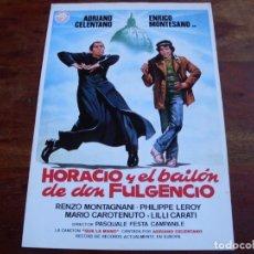 Cine: HORACIO Y EL BAILON DE DON FULCENCIO - ADRIANO CELENTANO,ENRICO MONTESANO - GUIA ORIGINAL IZARO 1980. Lote 150571486