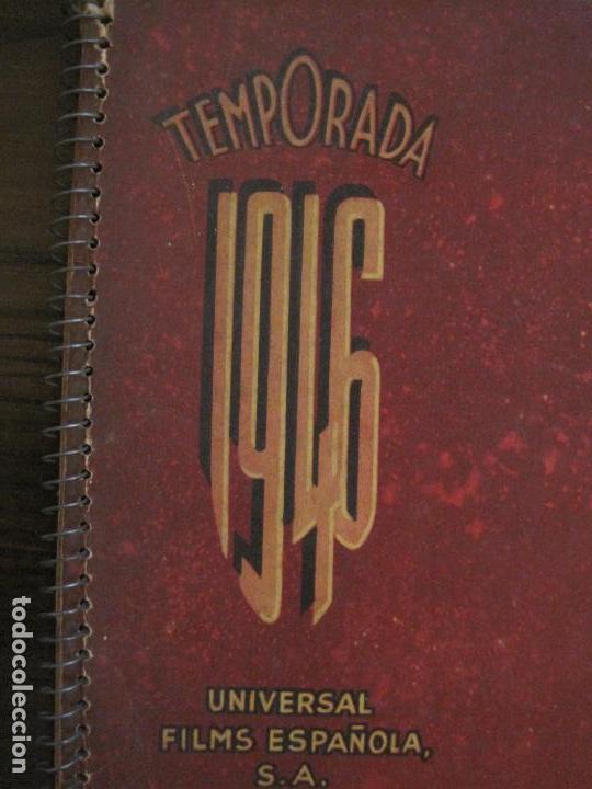 Cine: CATALOGO DE CINE-UNIVERSAL FILMS ESPAÑOLA S.A.-TEMPORADA 1946-VER FOTOS(V-15.956) - Foto 3 - 152207810