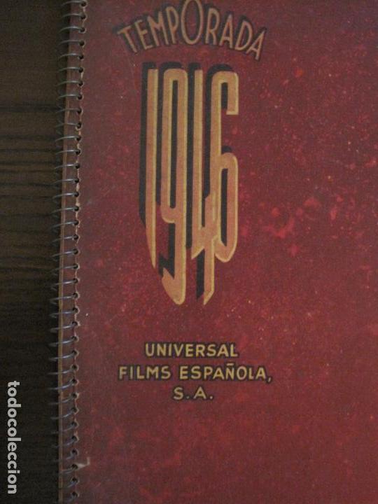 Cine: CATALOGO DE CINE-UNIVERSAL FILMS ESPAÑOLA S.A.-TEMPORADA 1946-VER FOTOS(V-15.956) - Foto 4 - 152207810