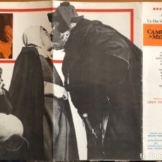 Cine: CINE- CAMPANADAS A MEDIANOCHE- ORSON WELLES- BREPI FILMS. Lote 152437446