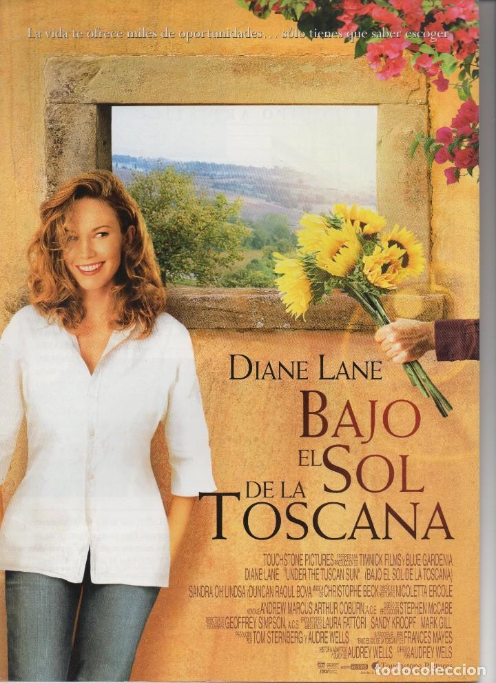 BAJO EL SOL DE LA TOSCANA (Cine - Guías Publicitarias de Películas )
