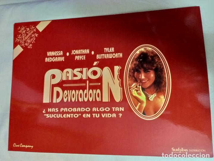 GUIA PUBLICITARIA. PASION DEVORADORA. VANESSA REDGRAVE, JONATHAN PRYCE, TYLER BUTTERWORTH. (Cine - Guías Publicitarias de Películas )