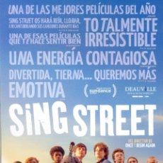 Cine: SING STREET. GUIA ORIGINAL ESTRENO.. Lote 153927638