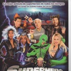 Cine: SUPERHERO MOVIE. Lote 154495126