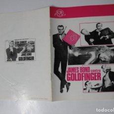 Cine: X4148 007 JAMES BOND CONTRA GOLDFINGER ---- NO ENTRA EN LOTES . Lote 154718966
