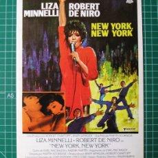 Cine: NEW YORK, NEW YORK · MARTIN SCORSESE, ROBERT DE NIRO, LIZA MINELLI · GUÍA PARA PRENSA + 2 FOTOS. Lote 155421474