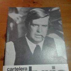 Cine: CARTELERA TURIA 279 MAYO-JUNIO 1969. Lote 155697134