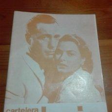 Cine: CARTELERA TURIA 495 JULIO 1973. Lote 155700830