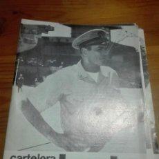 Cine: CARTELERA TURIA 312 ENERO 1970. Lote 155701342