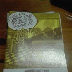 Cine: CARTELERA TURIA 622 DICIEMBRE 1975. Lote 155708110