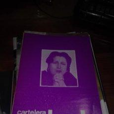 Cine: CARTELERA TURIA 509 OCTUBRE 1973. Lote 155708530