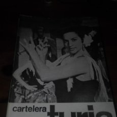 Cine: CARTELERA TURIA 528 MARZO 1974. Lote 155708742