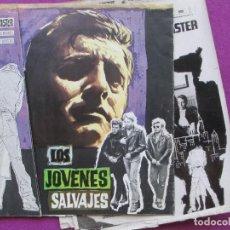 Cine: GUIA PUBLICITARIA + 2 FOTOS, LOS JOVENES SALVAJES, BURT LANCASTER, DINA MERRILL, GF113. Lote 156167814