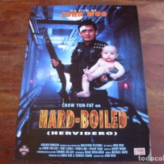 Cine: HARD-BOILED HERVIDERO - CHOW YUN-FAT,TONY LEUNG - DIR. JOHN WOO - GUIA ORIGINAL MANGA FILMS AÑO 1992. Lote 176861270