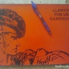 Cine: LLANTO POR UN BANDIDO (CARLOS SAURA, ÁGATA FILMS, 1964) EL TEMPRANILLO - RARÍSIMO PROMOCIONAL .... Lote 156705282