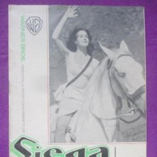 Cine: GUIA PUBLICITARIA, SIEGA VERDE, JEANNE VALERIE, CARLOS LARRAÑAGA, G265. Lote 157002190