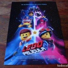 Cine: LA LEGO PELICULA 2 - ANIMACION - DIR. MIKE MITCHELL - GUIA ORIGINAL WARNER AÑO 2019. Lote 157057810
