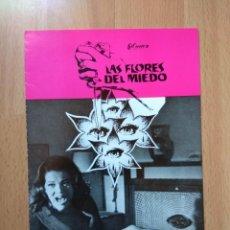 Cine: G-GUIA DE LA PELICULA-- LAS FLORES DEL MIEDO. Lote 157440550