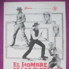 Cine: GUIA PUBLICITARIA, EL HOMBRE DE LAS PISTOLAS DE ORO, RICHARD WIDMARK, HENRY FONDA, G337. Lote 158547806