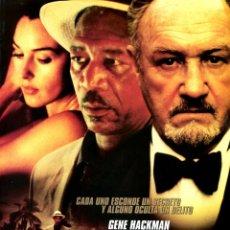 Cine: BAJO SOSPECHA (GUÍA ORIGINAL DOBLE CON FOTOS ESTRENO DE SU EN ESPAÑA) GENE HACKMAN MONICA BELLUCI. Lote 159750150