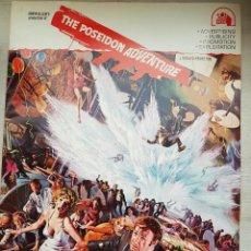 Cine: GUÍA ORIGINAL USA LA AVENTURA DEL POSEIDÓN - 20 PÁGINAS -1972 - IRWIN ALLEN´S - GRAN FORMATO - NUEVO. Lote 160294222