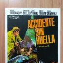 Cine: I---GUIA DE LA PELICULA-- ACCIDENTE SIN HUELLA -. Lote 160597662