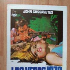 Cine: I---GUIA DE LA PELICULA-- LAS VEGAS 1970. Lote 160608638