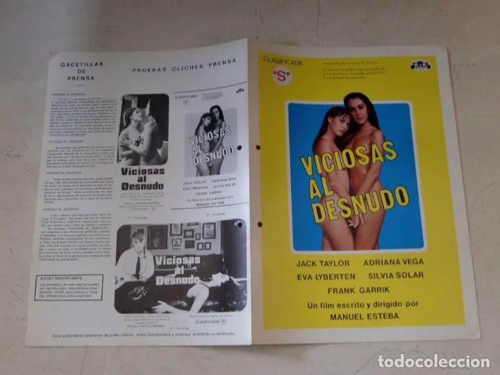 Guia Doble De Cine Original Estreno Viciosas Al Desnudo Eva Lyberten