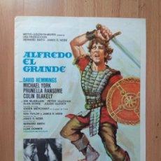 Cine: I---GUIA DE LA PELICULA-- ALFREDO EL GRANDE.. Lote 160704230