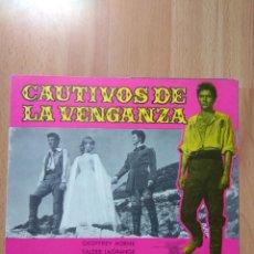 Cine: J----GUIA DE LA PELICULA-- CAUTIVOS DE LA VENGANZA. Lote 161260402