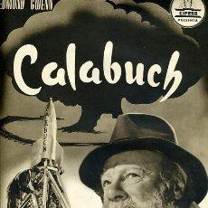 Cinema: GUIA CINE , CALABUCH , LUIS BERLANGA , CIFESA , DOBLE HOJA , ORIGINAL , G1472. Lote 162036002
