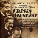 Cine: GUIA CINE , CRISIS MUNDIAL , BENITO PEROJO , ORIGINAL , G1481. Lote 162038802