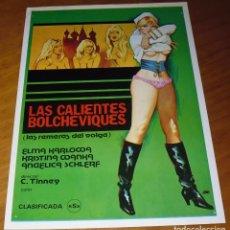 Cine: LAS CALIENTES VOLCHEVIQUES - GUIA ORIGINAL - PEDIDO MINIMO 6 EUROS. Lote 162417654