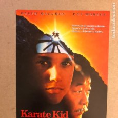 Cine: KARATE KID III. GUÍA PUBLICITARIA SIMPLE. IDEAL PARA ENMARCAR.. Lote 162426409