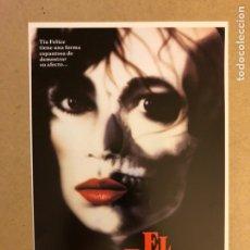 Cine: EL BESO. GUÍA PUBLICITARIA SIMPLE. IDEAL PARA ENMARCAR.. Lote 162426421
