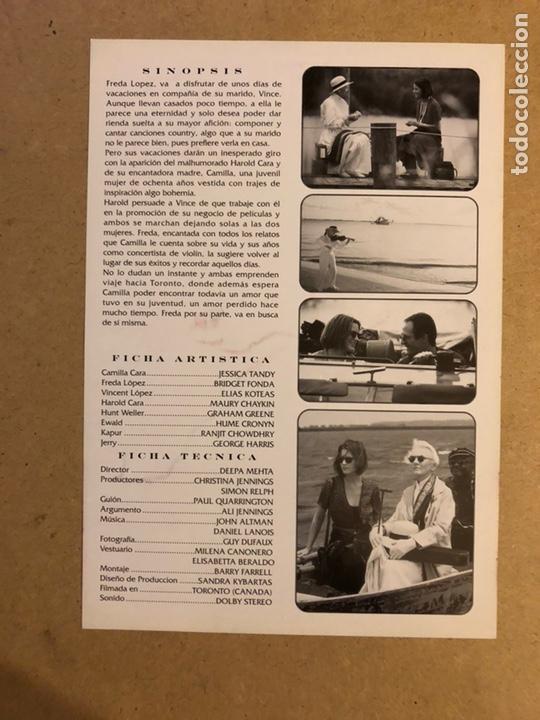 Cine: FRIDA Y CAMILLE. GUÍA PUBLICITARIA SIMPLE. IDEAL PARA ENMARCAR. - Foto 2 - 162426610