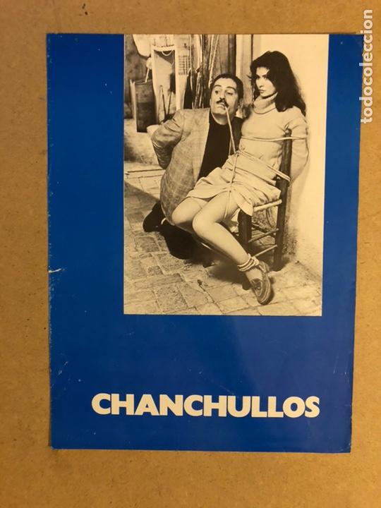 CHANCHULLOS (LA MAZZETTA). GUÍA PUBLICITARIA SIMPLE. IDEAL PARA ENMARCAR. (Cine - Guías Publicitarias de Películas )