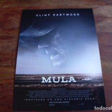 Cine: MULA - CLINT EASTWOOD, BRADLEY COOPER, ANDY GARCIA, DIANNE WIEST - GUIA ORIGINAL WARNER AÑO 2019. Lote 194974948