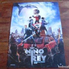Cine: EL NIÑO QUE PUDO SER REY - TOM TAYLOR,REBECCA FERGUSON, PATRIC STEWART - GUIA ORIGINAL FOX AÑO 2019. Lote 194731037