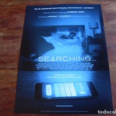 Cine: SEARCHING - JOHN CHO, DEBRA MESSING, JOSRPH LEE, MICHELLE LA - GUIA ORIGINAL SONY AÑO 2019. Lote 194974896