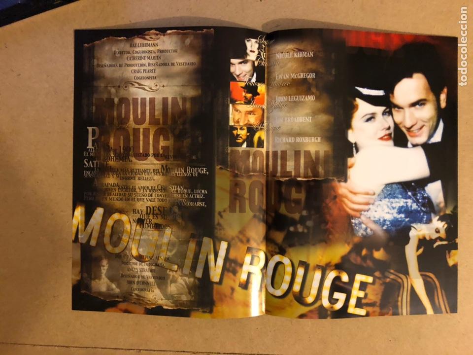 Cine: MOULIN ROUGE (NIKOLE KIDMAN, EWAN McGREGOR,..). GUÍA PUBLICITARIA DE LA PELÍCULA. - Foto 2 - 162479594