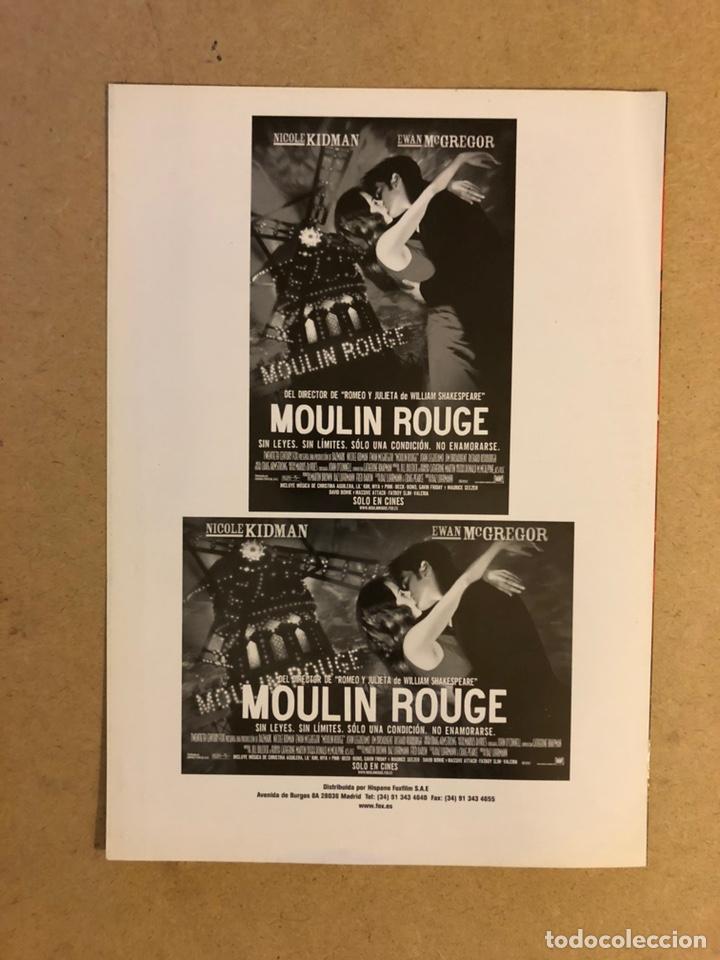 Cine: MOULIN ROUGE (NIKOLE KIDMAN, EWAN McGREGOR,..). GUÍA PUBLICITARIA DE LA PELÍCULA. - Foto 3 - 162479594