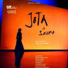 Cine: JOTA (GUÍA ORIGINAL SIMPLE CON FOTOS DE SU ESTRENO EN ESPAÑA) DIRECTOR CARLOS SAURA. Lote 195027256