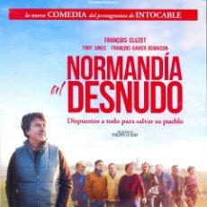 Cinema: NORMANDIA AL DESNUDO. GUIA ORIGINAL ESTRENO.. Lote 163016738