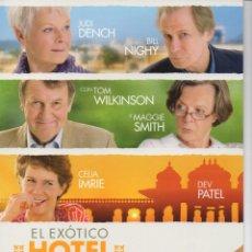 Cine: EL EXÓTICO HOTEL MARIGOLD. Lote 163643230