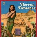 Cine: GUIA CINE , TIERRA DE FARAONES , TIPO REVISTA , ORIGINAL , G1531. Lote 164451002
